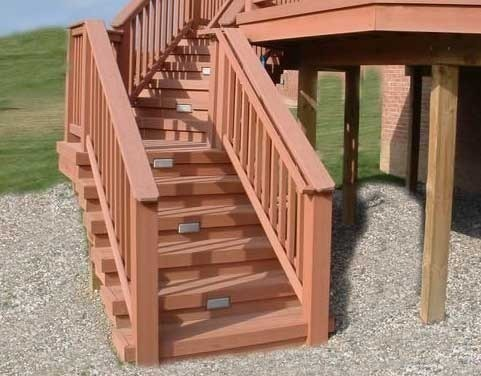 Lovely How To Build Deck Stairs