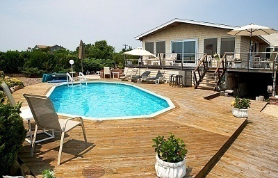 How to build a pool deck for Build your own pool deck